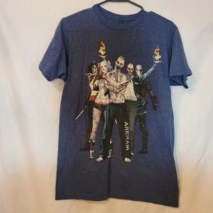 Suicide Squad Grayish Blue Shortsleeve Tshirt